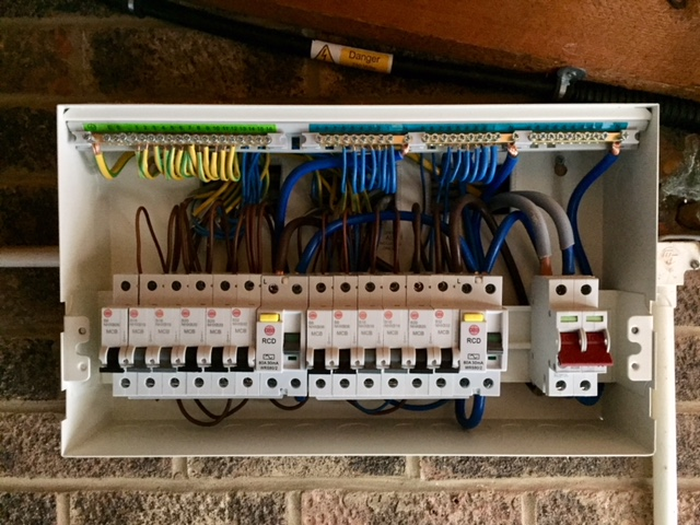 New Circuits and Upgrading Wiring