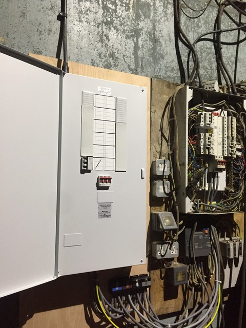 New fuse boxes