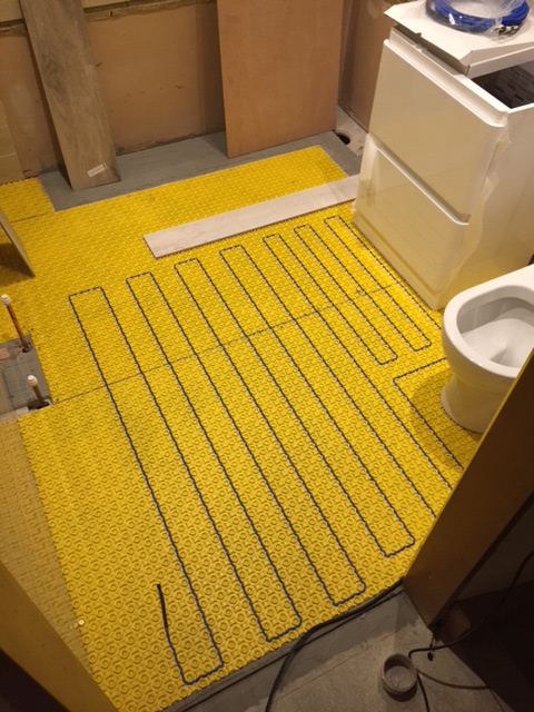 Underfloor Heating Installation & Repairs